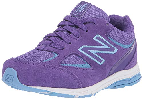 New Balance Kid's 888 V2 Lace-Up Running Shoe, Prism Purple, 9.5 W US Toddler