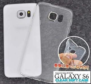 PLATA Galaxy S6 (SC-05G) ソフトケース 【 クリア 】 美しい光沢 手触り抜群 衝撃に強い 耐久性 適度な硬さ TPU 保護 ケース