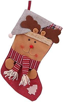Amazon.com: Linker Wish - Bolsa de regalo de Navidad para ...