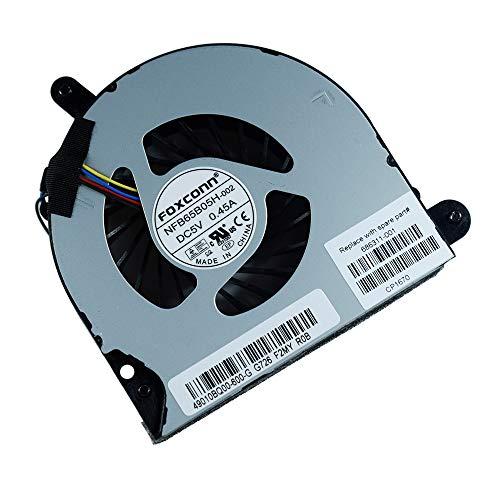 Rangale Compatible CPU Cooling Fan for Elitebook 8560p 8560w 8570p Probook 6560B 6565B 6570B Series Laptop SPS 686311-001 641183-001