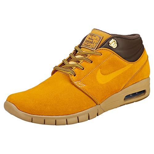 Nike SB Stefan Janoski MAX Mid PRM Hombres Zapatillas Bronze Brown - 42 EU
