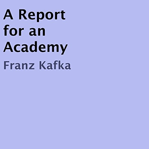 A Report for an Academy cover art