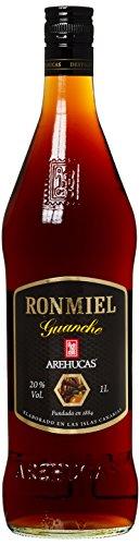 arehucas Ron miel guanche, Kana rische Islas, flavo ured (1x 1l)