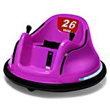 Kids Bumper Car 12v Double Battery Kids Electric Ride on Toy Car with 360 Spin Wheels and Remote Control
