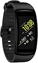 Samsung Gear Fit2 Pro Fitness Smartwatch (Small) - Black (Renewed)
