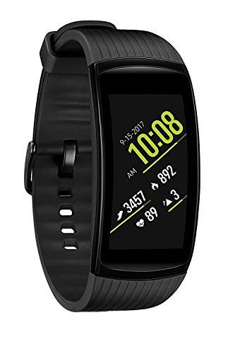 Samsung Gear Fit2 Pro Fitness Smartwatch (Large) - Black (Renewed)