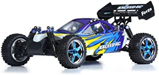 Exceed RC 1/10 2.4Ghz Forza .18 Engine RTR Nitro Powered Off Road Buggy (Fire Blue)