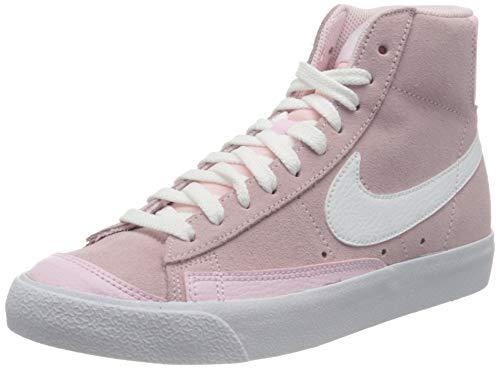 Nike Blazer Mid Vintage \'77, Zapatillas de bsquetbol Mujer, Pink Foam Pink Foam White, 40 EU