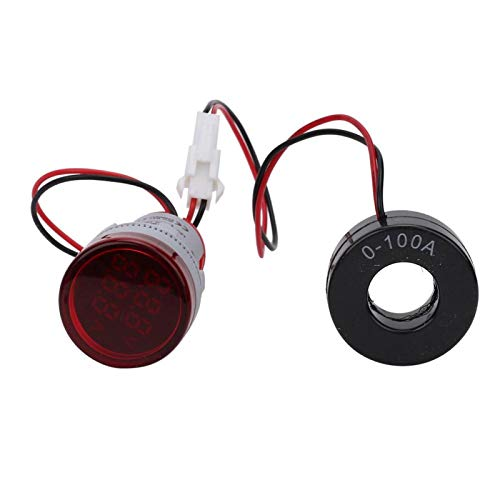 2in1 indicatielampje 60 500 V hoge stroom spanningsstroom test digitaal voor signaalweergave voor automatiseringsapparaten rood