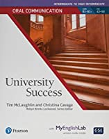 University Success (Oral Communication) Inter High-Inter Student Book with MyEnglishLab