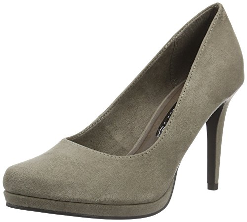 Tamaris Damen 22456 Pumps, Braun (Pepper 324), 38 EU