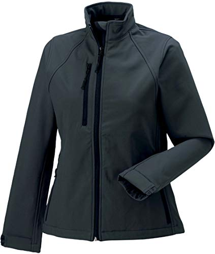 Russell Damen Softshelljacke Softshell Jacket R-140F-0 Titanium 4XL (48)