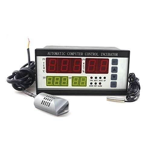 Incubatrice industriale multifunzionale Huatuo Incubatrice per uova XM-18 Regolatore di umidità della temperatura digitale in vendita