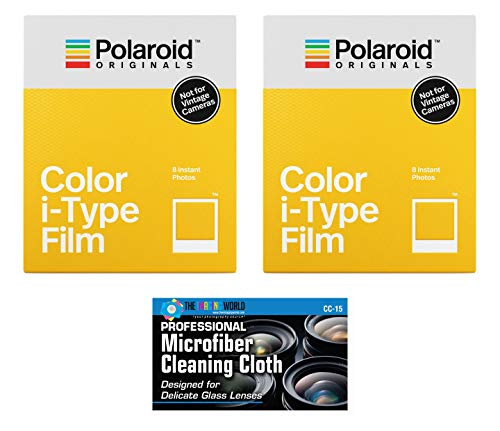 Impossible/Polaroid Color Glossy Instant Film for Polaroid Originals I-Type OneStep2 Camera - 2-Pack