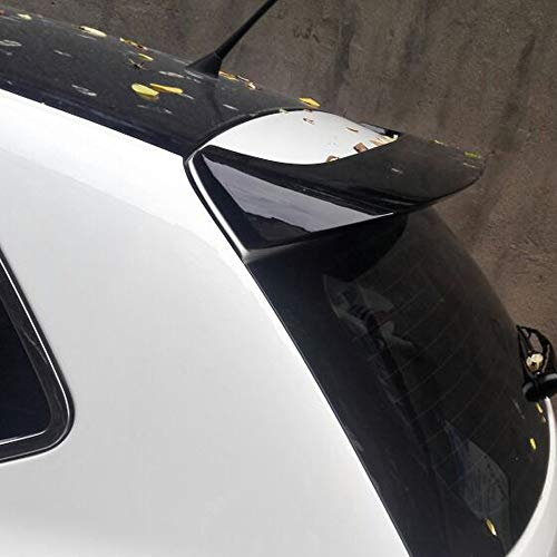 AniFM Heckspoiler Fit für VW Golf 6, ABS Material Auto Heckspoiler Farbe Heckspoiler für Volkswagen Golf 6 Spoiler 2010-2013,Black