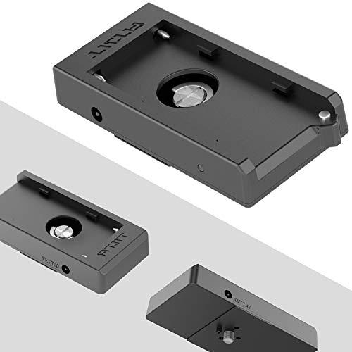 TILTA TA-BTP-F970 F970 Battery Plate Akku Platte for BMPCC 4K Cage Blackmagic Pocket Cinema Camera 4K Rig (F970 Battery Plate)