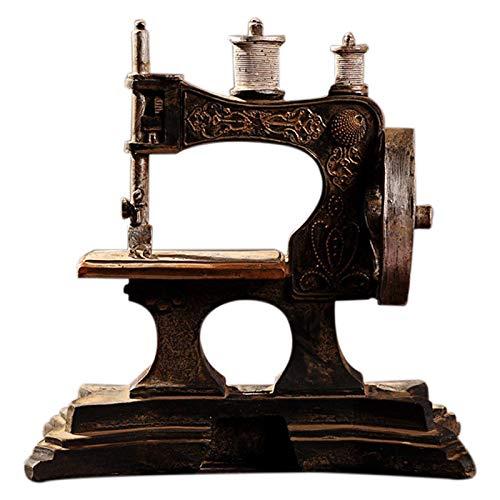 DeepBlue - Máquina de Coser de Resina, Adornos, restauración de Formas Antiguas, Barra Antigua, decoración del hogar, Manualidades, Regalo