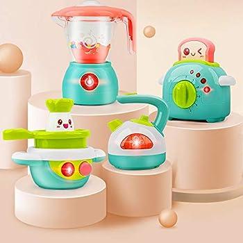 4-Pieces Gizmovine Mini Kids Kitchen Playsets