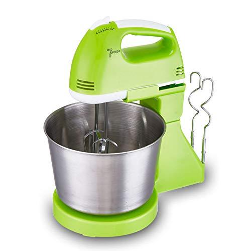 200W Electrichand Mixer 7 Elektrische Speed Krachtige Handheld Mixer Met Turbo En Eenvoudig Eject-Knop Voor Het Bakken Van Het Maken Van Ijs,Green