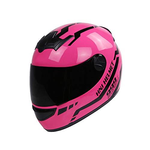 KuaiKeSport Casco Moto Integral,Casco De Moto Motoclicleta Ciclomotor con Visera,Transpirable Motocross Bicicleta...
