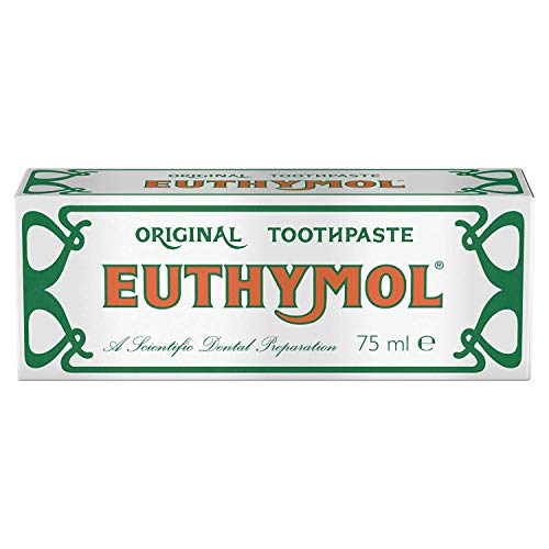 Euthymol Original Toothpaste 75ml 3 (triple pack) by Euthymol