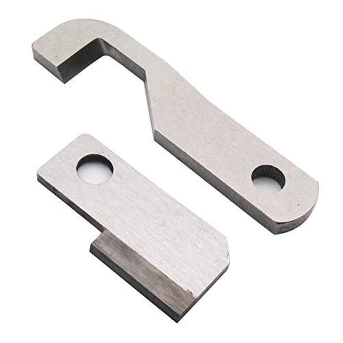 KUNPENG - Cuchillo superior + inferior PARA Husqvarna Viking 905, 910, 936# 411000035 + 411000034 1conjunto