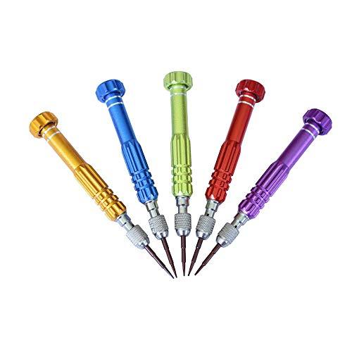5 in 1 Torx-Schraubendreher-Satz Laptop Repair Tool Kit Multitool Handwerkzeuge für Telefon Uhr Tablet PC - Farbe