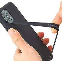 Sinjimoru - Cinturino Elastico in Silicone per Telefono, Sottile, per iPhone, Cinturino Sicuro Come Supporto per...
