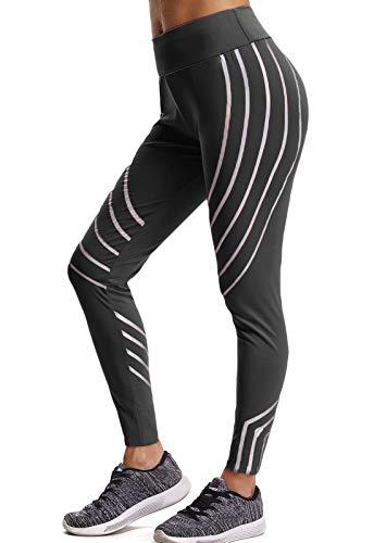 FITTOO Mallas Pantalones Deportivos Leggings Mujer Yoga de Alta Cintura Elásticos y Transpirables para Yoga Running Fitness con Gran Elásticos1090