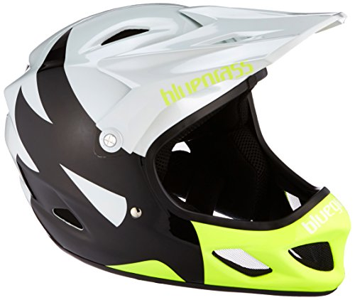 Bluegrass Casque Explicit XS White/Black/Fluo Yellow