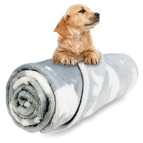 Petsvv FleeceDogBlanket, Soft Cozy Warm PetPuppy CatBlanket, Premium Fleece Throw Blanket...