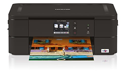 Brother DCP-J772DW 3-in-1 Tinten-Multifunktionsgerät, schwarz