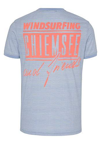 Chiemsee Herren T-Shirt, L Blue/Wht STR, S
