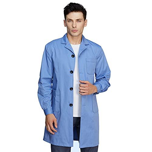 Traje de protección contra la radiación para hombres y mujeres con protección electromagnética contra la radiación del traje protector, azul, XXL