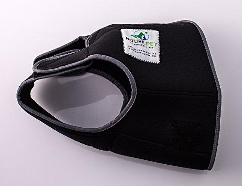 NATURE PET Braguitas para Perros Hembras En Periodo De Celo/Braguitas para Perros Machos/Braguitas Protectoras (S-L, Negro)