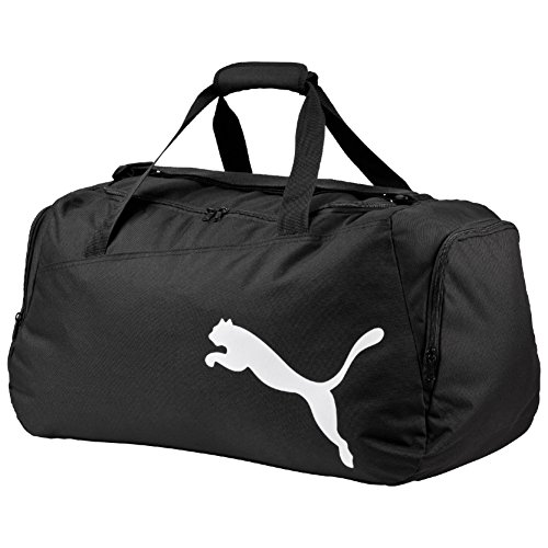 Puma Unisex Sporttasche Pro Training One Size (L 61 x W 31 x H 29 cm) 47 liter, Mehrfarbig (Black/White), 072938 01