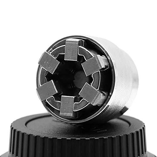 Mintiml Universal Hülse Adaptive Schraubenschlüssel All-Fitting Multi Drill Aufsatz Universal Stecknuss Profi 3/8 Zoll Antriebsschlüssel Reparatur Werkzeug
