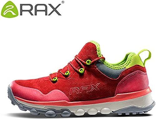 QLJ01 Chaussures de randonnée pour Hommes Sports de Plein air baskets Baskets Trekking Femme baskets Sapatos Masculinos Chaussure de Montagne légère