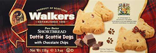 Dottie Scottie Dogs Shortbread with Chocolate Chips 110g