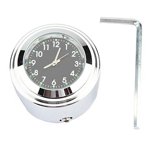 Motorrad Lenkerhalterung Uhr Zeitgenaue Uhr Lenkeruhr mit Einbausatz Fit für 7/8
