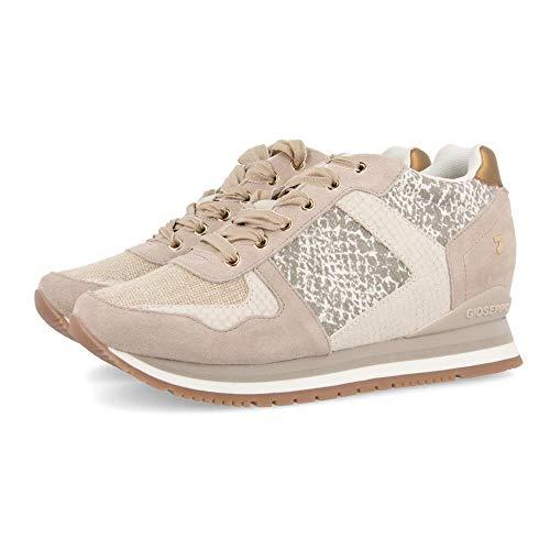 Gioseppo HOWRAH, Zapatillas para Mujer, Beige (Beig Beig), 38 EU