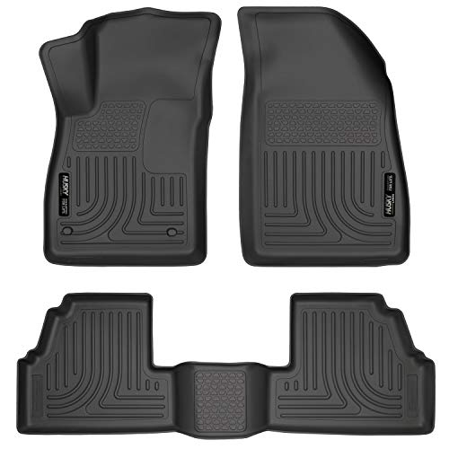 Husky Liners Fits 2013-20 Buick Encore, 2015-20 Chevrolet Trax Weatherbeater Front & 2nd Seat Floor Mats