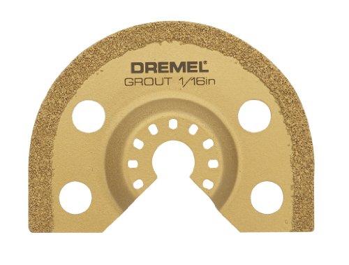 Dremel MM501 Multi-Max Karbide voegenfreesblad - accessoires voor multifunctioneel gereedschap, 1 voegenfreesblad 1,6 mm voor het snijden en verwijderen van voegmortel tussen wand- en vloertegels