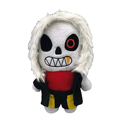 Undertale Plush Toys Sans Frisk Chara Asriel Lancer Zombie Doll Soft Stuffed Toy for Children Christmas Halloween Birthday gifts for Kids 1pcs 20 to 30cm