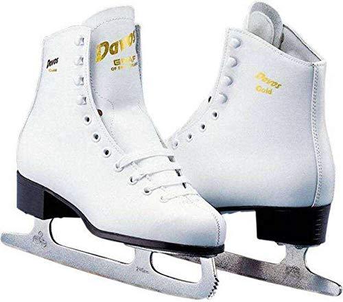 Davos Gold Damen-Art Skate weiß Größe 38