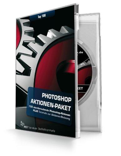 Photoshop-Aktionen-DVD - Top 100 Aktionen für Photoshop von PSD-Tutorials.de