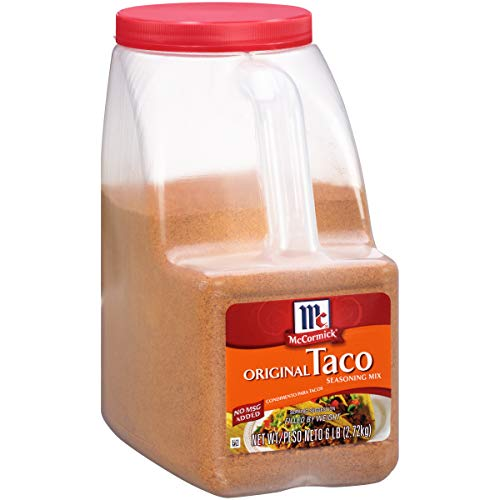 McCormick Original Taco Seasoning Mix, 6 lbs