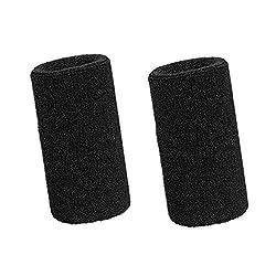 Lvcky 15,2 cm Wrist Sweatband Sport Wristbands Elastic Athletic Cotton Wrist Bands for Sport 2 Pack