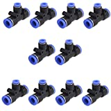 Movilideas 10 Unidades Conector de tubo de aire...