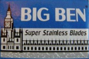 5 cuchillas de afeitar Big Ben Super Stainless (1 paquete)